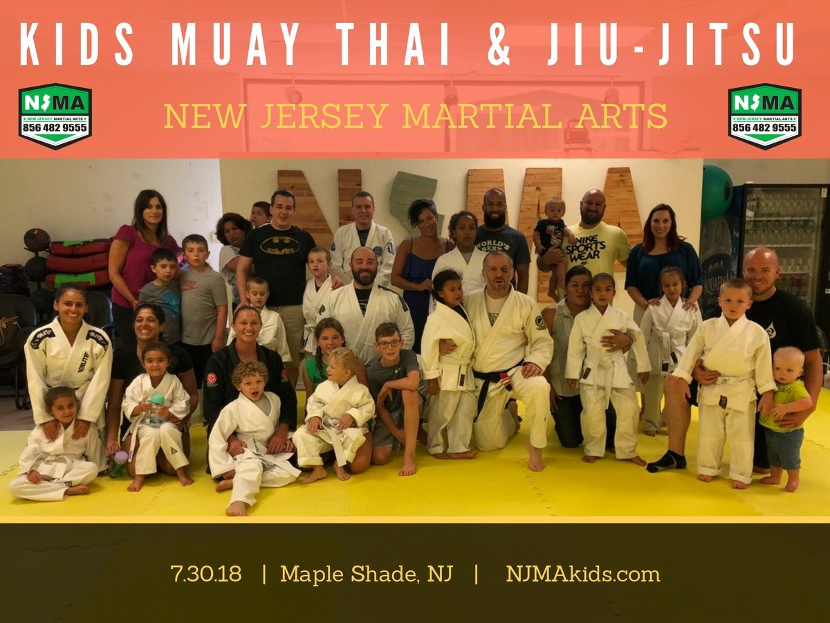 First kids class at NJMA in Maple Shade.